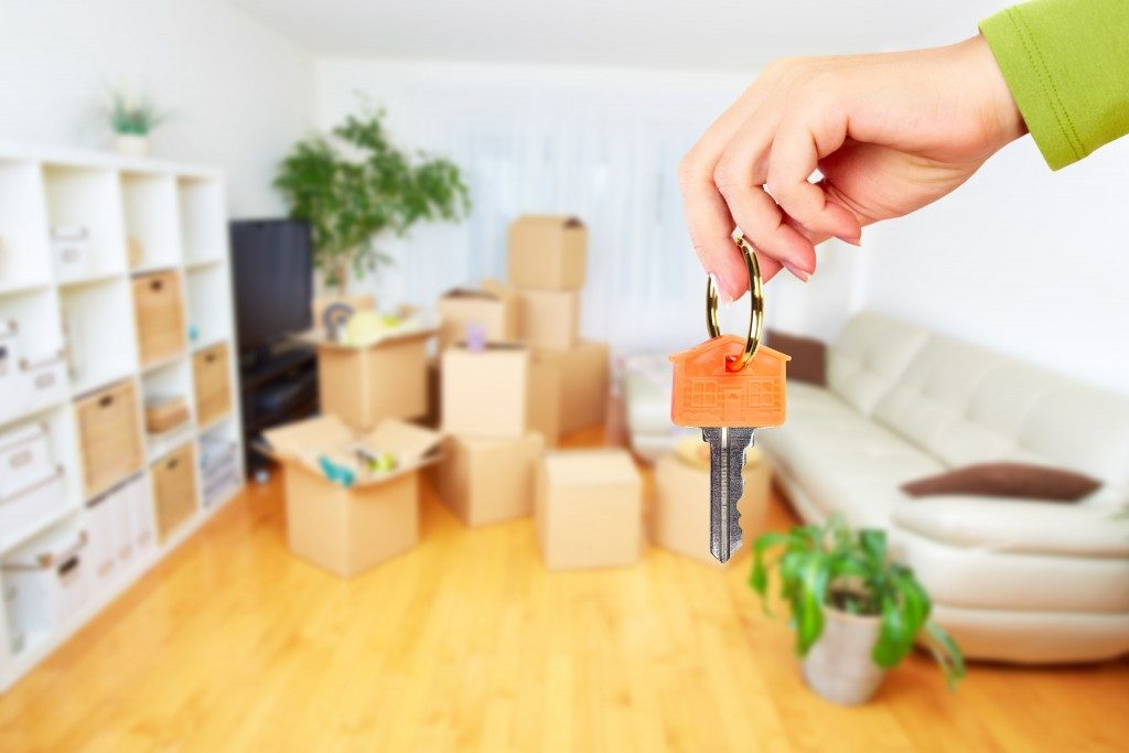 a key to a condominium unit