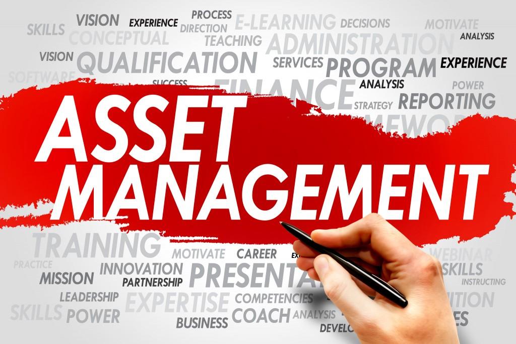 Property asset management word cloud